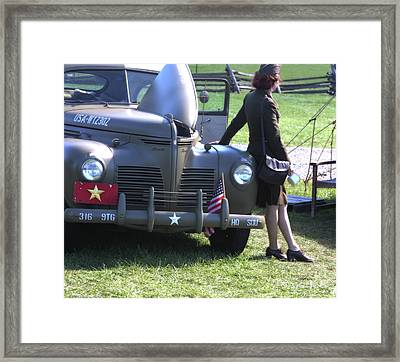 The General's Driver  Framed Print by Steven Digman