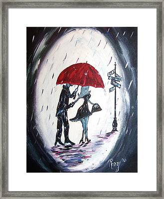 The Gentleman Framed Print by Roxy Rich