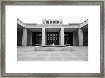The George W. Bush Presidential Library And Museum  Framed Print by Robert Bellomy