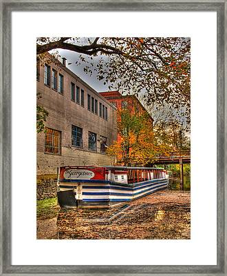 The Georgetown Framed Print