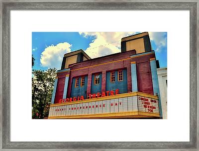 The Georgia Theatre Framed Print