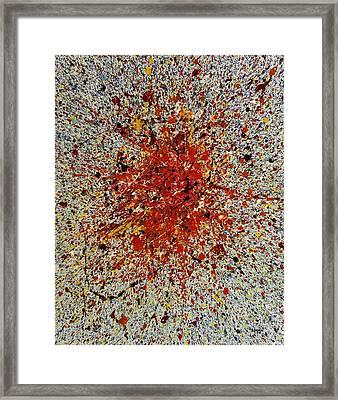 The Germ Of An Idea Framed Print by Steven Dean