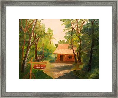 The Getaway Framed Print by Marilyn Tower