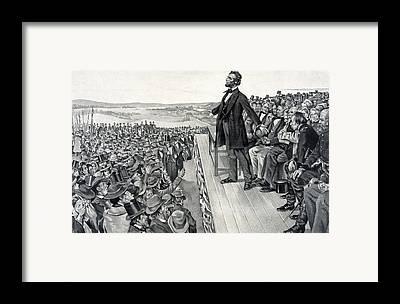 Civil War Battle Site Framed Prints
