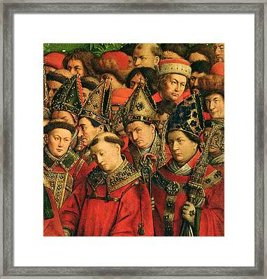The Ghent Altarpiece Framed Print by Van Eyck