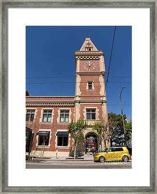 The Ghirardelli Chocolate Factory Clock Tower San Francisco California Dsc3241 Framed Print