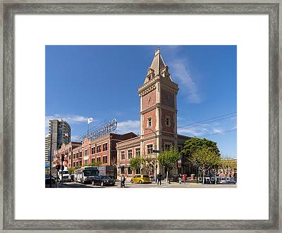 The Ghirardelli Chocolate Factory Clock Tower San Francisco California Dsc3245 Framed Print