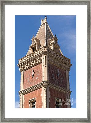 The Ghirardelli Chocolate Factory Clock Tower San Francisco California Dsc3247 Framed Print