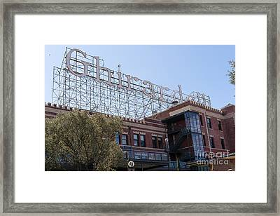 The Ghirardelli Chocolate Factory San Francisco California Dsc3223 Framed Print
