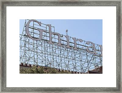The Ghirardelli Chocolate Factory San Francisco California Dsc3224 Framed Print