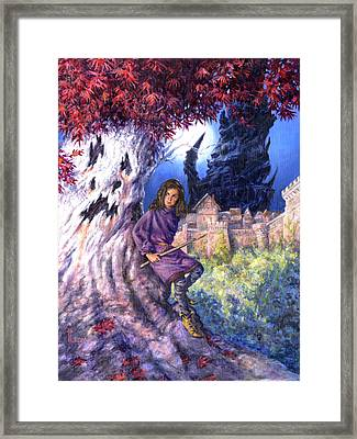 The Ghost In Harrenhal Framed Print by Richard Hescox