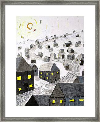 The Ghost In The Machine Framed Print