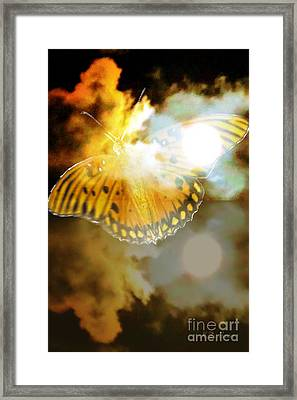 The Ghost Rider The Transition Has Just Begun Framed Print