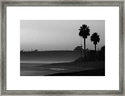 The Ghost Tide Of San Onofre  Framed Print by Brad Scott