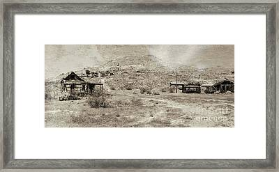 The Ghost Town Framed Print