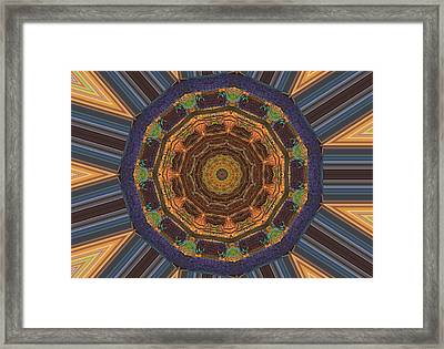 The Gift Framed Print by Dan Sproul