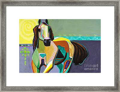 The Gift Framed Print by Frances Marino