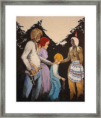 The Gift Framed Print by Frank Parrish
