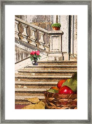 The Gift Framed Print by L Wright