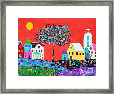 The Gift Of Life Framed Print by Pristine Cartera Turkus