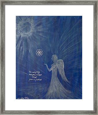 The Gift Of Spirit Framed Print by Silvia Flores