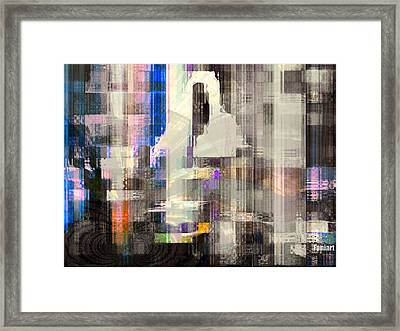 Framed Print featuring the painting The Gift Of The Holy Spirit by Fania Simon