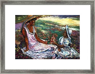 The Gift Framed Print by Tommy  Winn