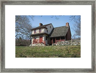 The Gilpin House Framed Print