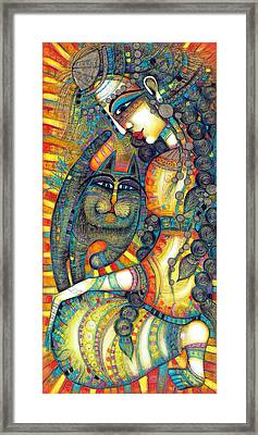 The Gipsy Framed Print