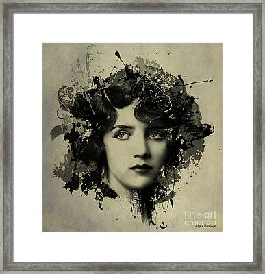 The Girl With The Million Dollar Legs Framed Print by Kira Bodensted
