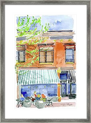 The Girls On Phillips Framed Print