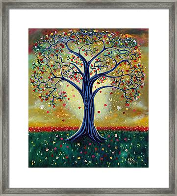 The Giving Tree Framed Print by Jerry Kirk