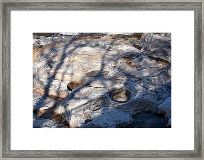 The Glacial Potholes Framed Print