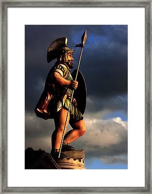 The Gladiator Framed Print