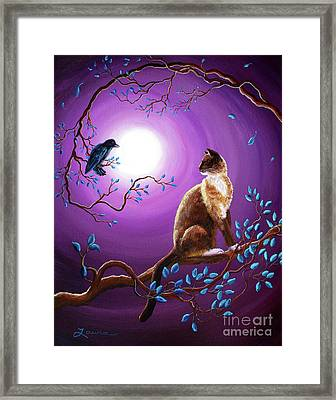 The Glance Framed Print