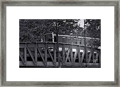 The Glance Framed Print by Olivier Le Queinec