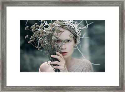 The Glance. Prickle Tenderness Framed Print