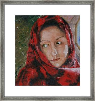 The Glance Framed Print by Stephen King