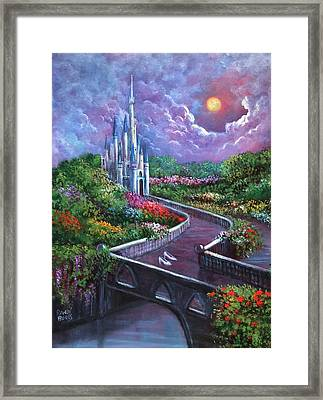 The Glass Slippers Framed Print