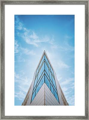 The Glass Tower On Downer Avenue Framed Print by Scott Norris