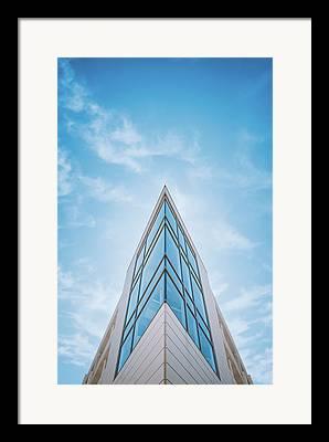 Glass Tower Framed Prints