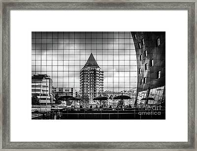 Framed Print featuring the photograph The Glass Windows Of The Market Hall In Rotterdam by RicardMN Photography