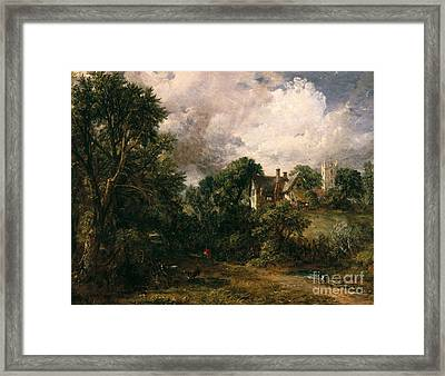 The Glebe Farm Framed Print