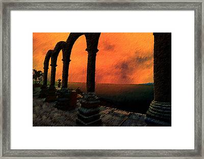 The Gloaming Framed Print