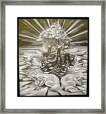 The Gloaming Framed Print by Stephen  Barry