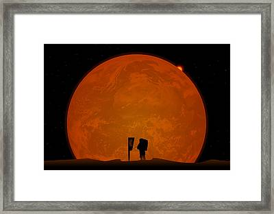 The Global Warming Framed Print