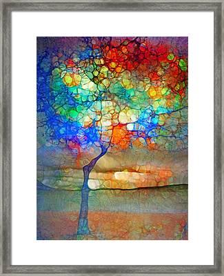 The Globe Tree Framed Print