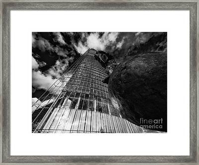The Globetrotter 1 Framed Print