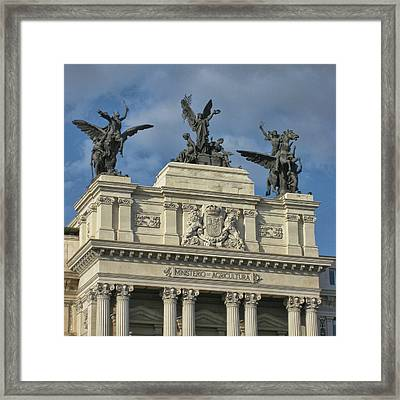 The Glory And The Pegasus Framed Print by JAMART Photography