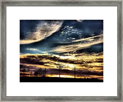 The Glory Framed Print by David Walsh